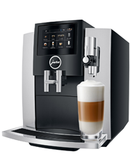 Jura S8 Moonlight Silver koffiemachine